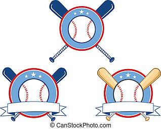 Baseball Banners 1  Collection Set