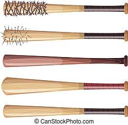 Baseball Bats Set