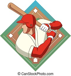 baseball batter male