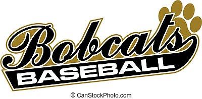 baseball, bobcats