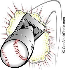 Baseball Bomb - A large explosive baseball
