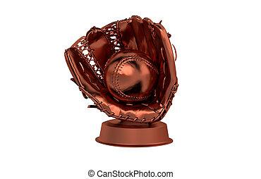 Baseball Bronze Trophy