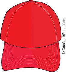 Beautiful and modern symbol of a baseball cap