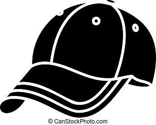 Baseball Cap Icon Vector Illustration