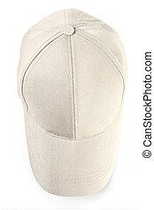 Baseball cap isolated - Baseball cap from jeans fabric ...