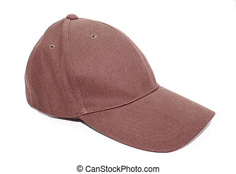 Baseball cap isolated on a white background.