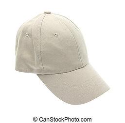 Baseball cap on a white background