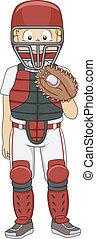 Baseball Catcher Boy