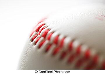 Baseball. close-up photo