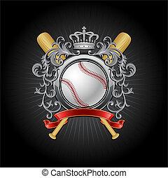 Baseball coat of arms