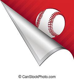 Baseball corner tab