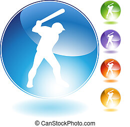 Baseball Crystal Icon
