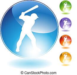 Baseball Crystal Icon