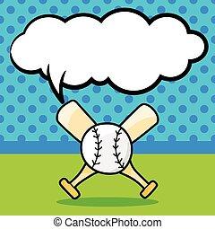baseball doodle