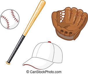 baseball, elemente