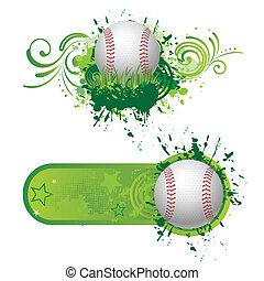 baseball, elementi, disegno