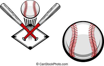 baseball, emblema
