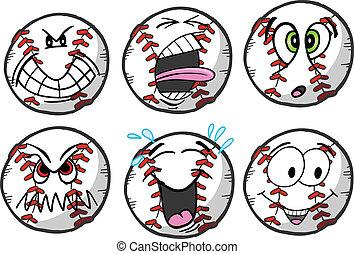 Baseball emotion Sports Icons
