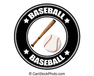 baseball, etichetta