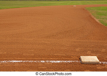 Baseball Field From Third Base