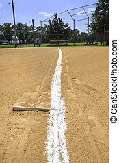 Baseball Field on a Sunny Afternoon