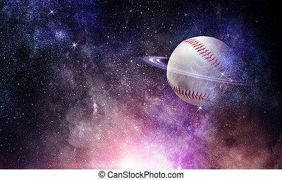 Baseball game concept