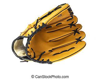 Baseball glove without ball