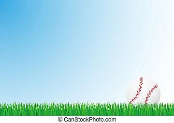 baseball grass field illustration