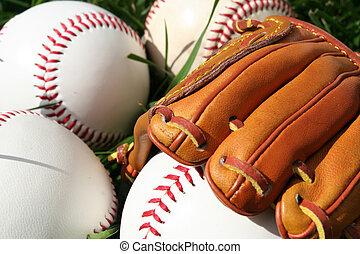 baseball, guanto