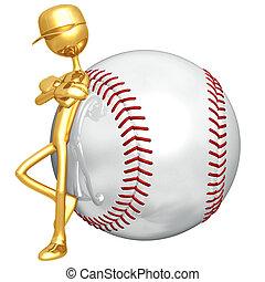 baseball, haltung