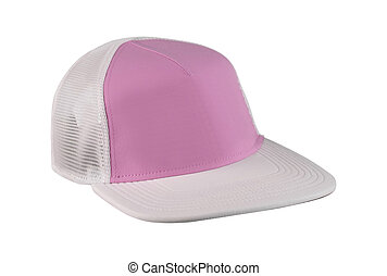 Baseball Hat Isolated on White