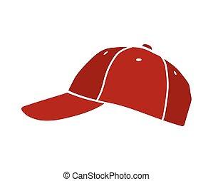 Baseball isolated vector cap