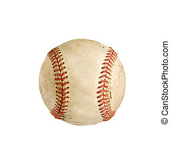 baseball isolated with path