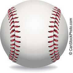 baseball, isolato, illustrazione