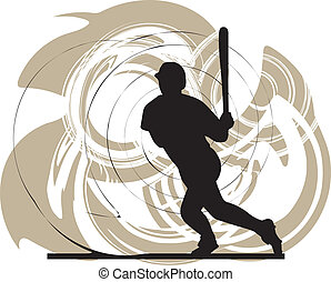 baseball játékos, action