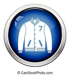 Baseball jacket icon