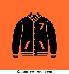 Baseball jacket icon