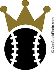 Baseball King Crown