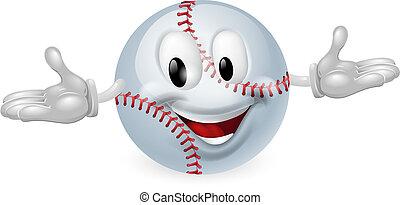 baseball labda, ember