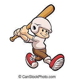 baseball mascot.