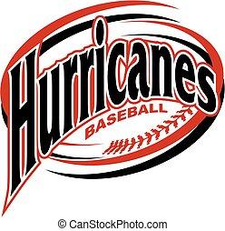 baseball, orkaner