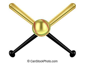 baseball, oro