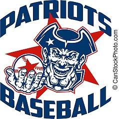baseball, patriots