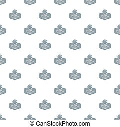 Baseball pattern seamless
