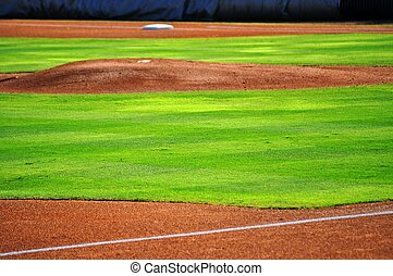 Baseball pitchers mound