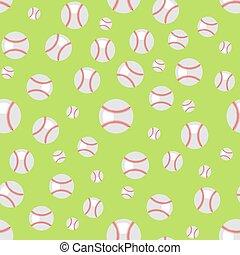 Baseball Seamless Pattern