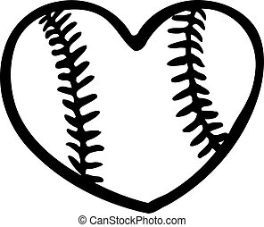 baseball, serce