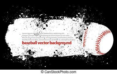 baseball, smutsa ner