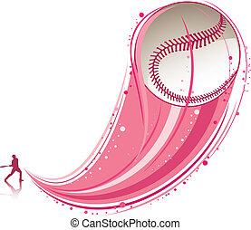 baseball, spielende