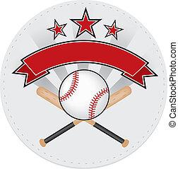 baseball sport patch